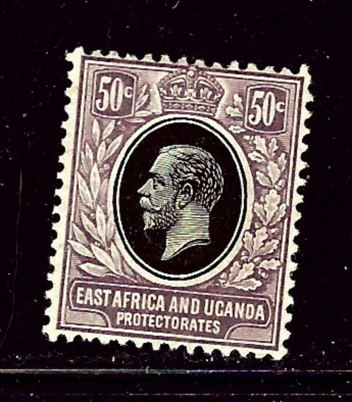 East Africa and Uganda 47 MLH 1912 issue