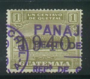 Guatemala Sct # RA13; used