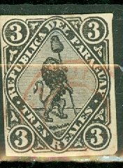 M: Paraguay 3 used CV $250