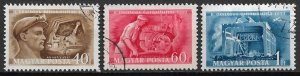 1950 Hungary 911-3 2nd National Exhibition of lnventions C/S used