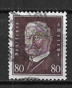 Germany 383 80pf Presidents single Used (z4)
