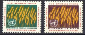 United Nations New York freedom from hunger     wheat