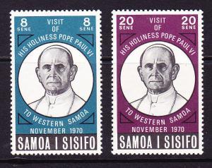 SAMOA 1970 POPES VISIT   SET 2 MLH