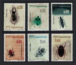 Yugoslavia Insects 6v SG#1206-1211