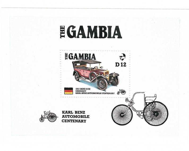 Gambia 628   SS   Mint NH VF 1986 PD