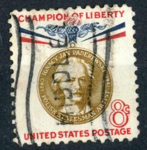 United States - SC#1160 - USED -1960 - Item USA270