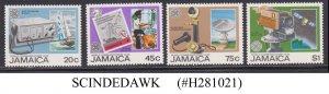 JAMAICA - 1983 WORLD COMMUNICATIONS YEAR - 4V - MINT NH