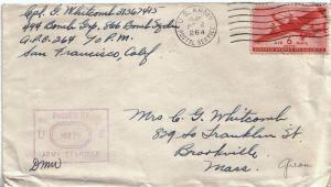 United States A.P.O.'s 1945 6c Transport 1945 U.S. Army Postal Service 264 An...