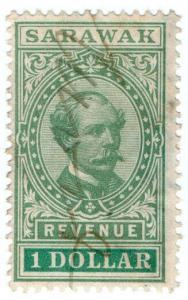 (I.B) Sarawak Revenue : Duty Stamp $1