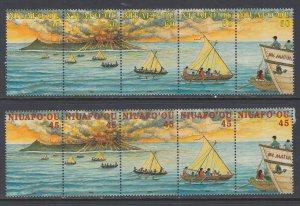 Tonga Niuafo'ou 191-192 MNH VF