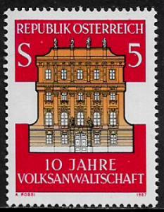 Austria #1403 MNH Stamp - Ombudsmen's Office