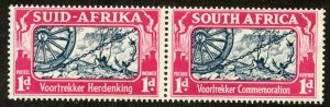 South Africa, Scott #79, Unused, Hinged& MNH pair