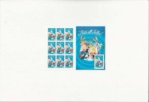 US Stamps/Postage/Sheets Sc #3534 Porky Pig MNH F-VF OG FV $3.40
