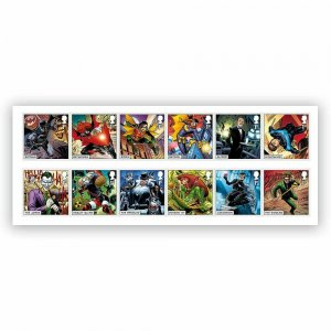 2021 SG:  TBC - DC COLLECTION   - UNMOUNTED MINT SET