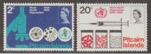 Pitcairn Islands Scott #95-96 Stamps - Mint NH Set