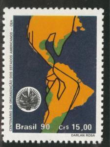 Brazil Scott 2294 MNH** 1990 OAS stamp