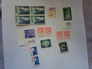 ISRAEL STAMPS MIXED CONDITION. LOT OF 15 stamps ( 10- )