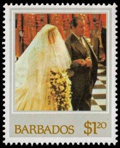 Barbados - Scott 587 - Mint-Never-Hinged