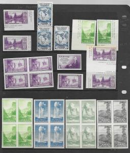 US 750a,756-65,768a and more f-vf, see desc. 2014 CV$122.55