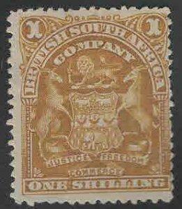 Rhodesia Scott 66 MH* coat of arms stamp