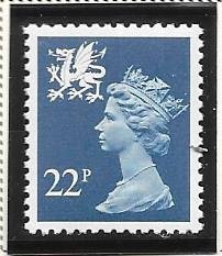 Great Britain-Wales & Monmouthshire # WMMH40 (MNH) $1.10