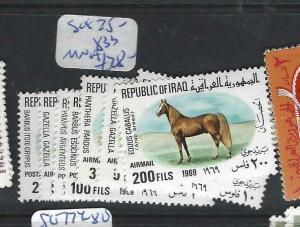 IRAQ   (P2803B)  SG 825-833      MNH
