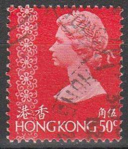Hong Kong #281 F-VF Used  (S7202)