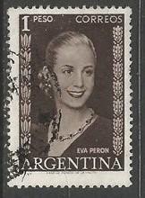 ARGENTINA 611 VFU Z3909-2
