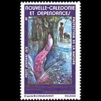NEW CALEDONIA 1979 - Scott# C156 Eel Queen Set of 1 NH