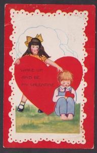 A Whitney Made Valentine Postcard to Pennsylvania