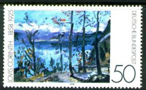 Germany Scott 1283 MNG Mint No Gum 1978 ART stamp