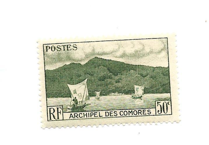 Comoro Island 1950 - Scott #31
