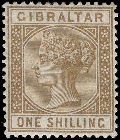 Gibraltar Scott 8-21 Gibbons 8-45 Mint Set of Stamps