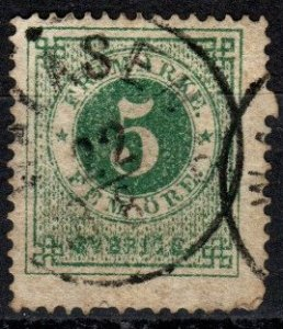 Sweden #19  Used CV $5.00 (X5140)