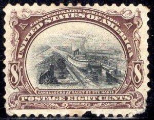 US Stamp Scott #298 Mint Hinged SCV $90