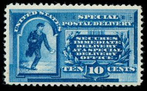 momen: US Stamps #E1 Mint OG NH VF+ PF Cert
