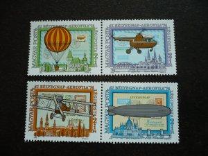 Hungary - Set - Air-Post Semi-Postal Stamps