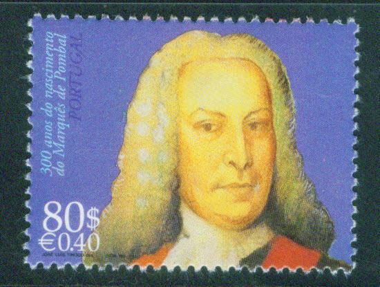 Portugal Scott 2295 MNH** Marques de Pombal stamp