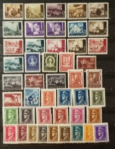 CROATIA Stamp Lot MH Mint Hinged Unused T8179