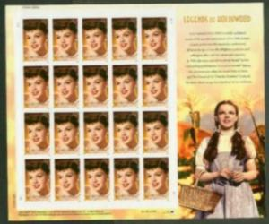 US Stamp #4077 MNH - Judy Garland Legends of Hollywood Full Sheet of 20