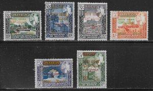 South Arabia Seiyun Michel 116-21 Astronauts MNH c.v. 11 Euro