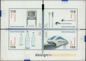 1999 Germany #2051, Complete Set, Never Hinged