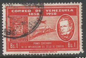 VENEZUELA C708 VFU J62