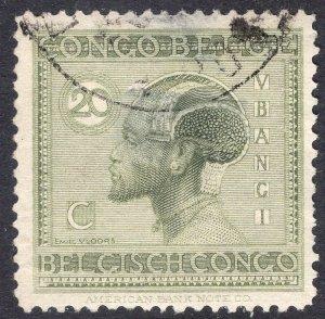 BELGIAN CONGO SCOTT 91