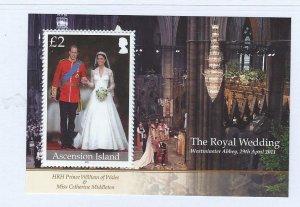 Ascension souvenir sheet  MNH SC#  1033
