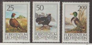Liechtenstein Scott #945-946-947 Stamps - Mint NH Set
