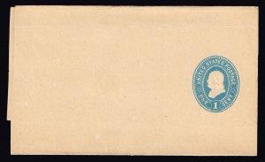 US STAMP BOB 1897-94 1C WRAPPER UNUSED ENTIRE