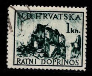 Croatia Scott RA3 Used Postal Tax stamp
