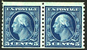 U.S. #496 MINT Pair OG NH