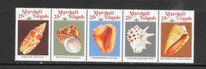 SHELLS - MARSHALL ISLANDS #220a  MNH